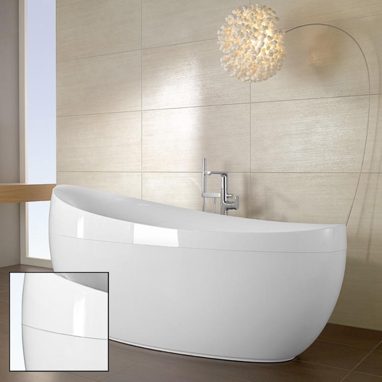 villeroy boch aveo freistehende badewanne wei ubq194ave9pdv 01. Black Bedroom Furniture Sets. Home Design Ideas