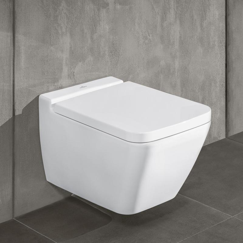 Villeroy & Boch Finion Wand-Tiefspül-WC, offener Spülrand ...