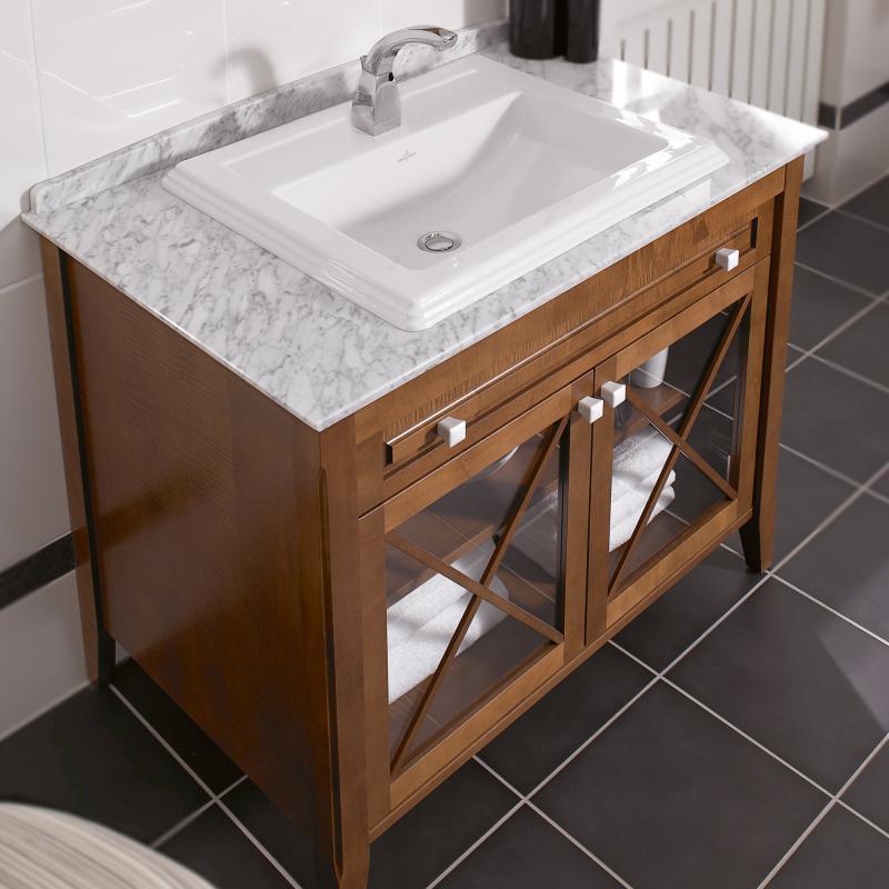 Waschtisch villeroy und boch villeroy und boch gaste wc for Schmaler waschtisch